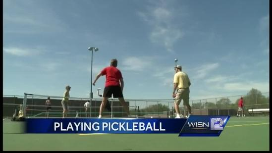 More and more people playing pickleball
