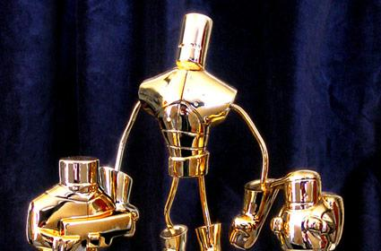 Shiny Alien Hominid trophies for leaderboard champs