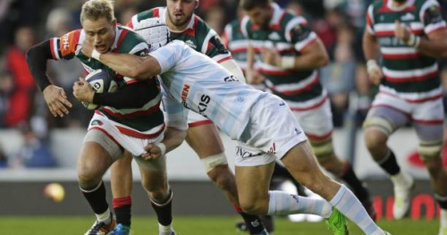 Rugby - Leicester - Leicester : Mathew Tait et Michele Rizzo prolongent