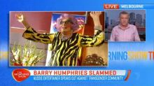 Barry Humphries' comments on the transgender community