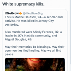 Rashida Tlaib deletes tweet falsely blaming Jersey City shooting on 'white supremacy'