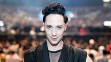 Johnny Weir fell on TV because his heels were too high
