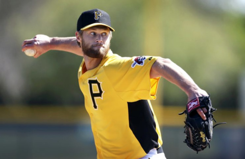Chris Leroux is making the leap from pitcher to reality TV star. (AP Photo)