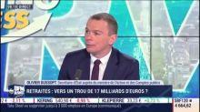 """Le déficit prévu du régime des retraites n'est pas une """"surprise"""", juge Olivier Dussopt (Budget)"""