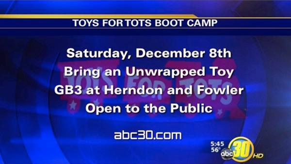 Toys for Tots Bootcamp