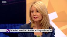 Esther McVey Forced To Defend Her DWP Legacy In Excruciating Victoria Derbyshire Interview