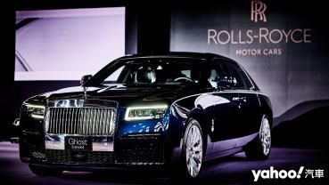 闇夜降臨鬼魅亮相!2021 Rolls-Royce全新第二代Ghost在台極速亮相!