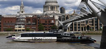Uber launches London boat service