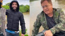"""Após pesca com Leonardo, Gusttavo Lima é criticado: """"Falta de respeito"""""""