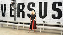 Versus Versace fails to impress with tired clothes, super thin models and a lacklustre front row