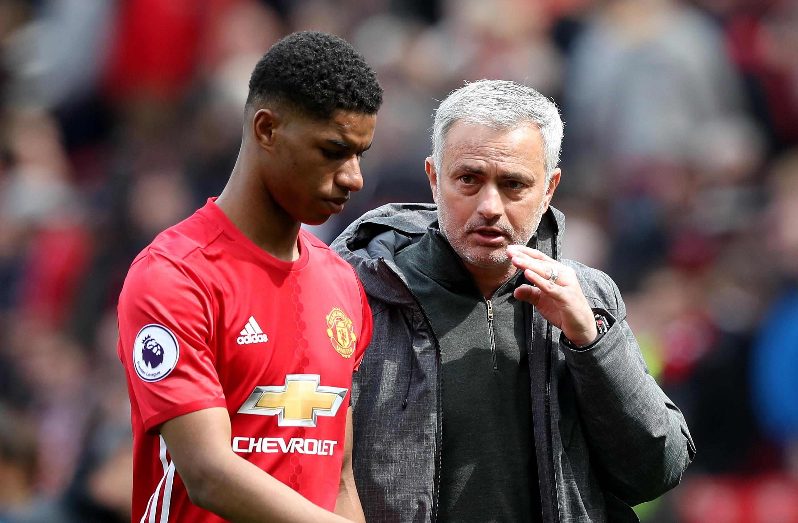 Rashford To Start Against Young Boys, Mourinho Confirms