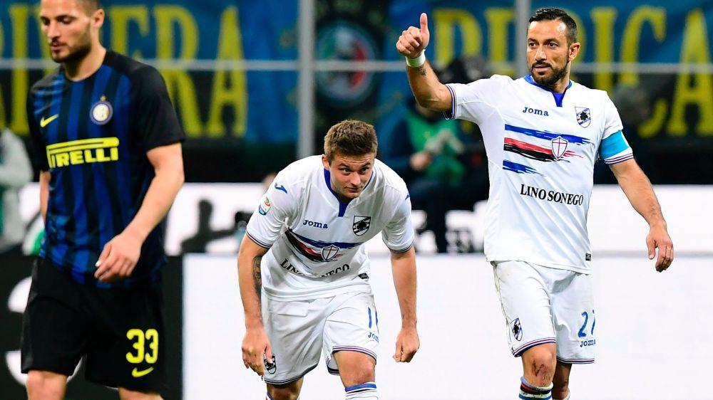 """Quagliarella 'blinda' Schick: """"Resta un altro anno alla Sampdoria"""""""