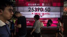 El Hang Seng cierra a la baja en el día de la salida a bolsa de Alibaba