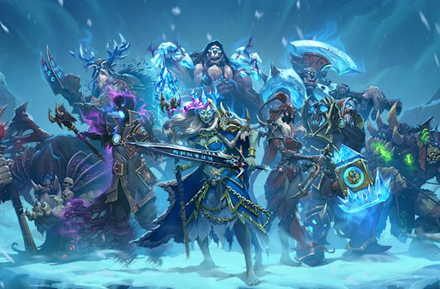 'Hearthstone's next expansion adds undead fun in icy Northrend