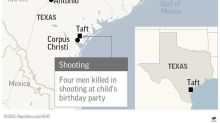4 men killed in shooting at child's birthday party in Texas