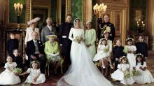 The royal family wedding portrait shows the power of being matchy-matchy