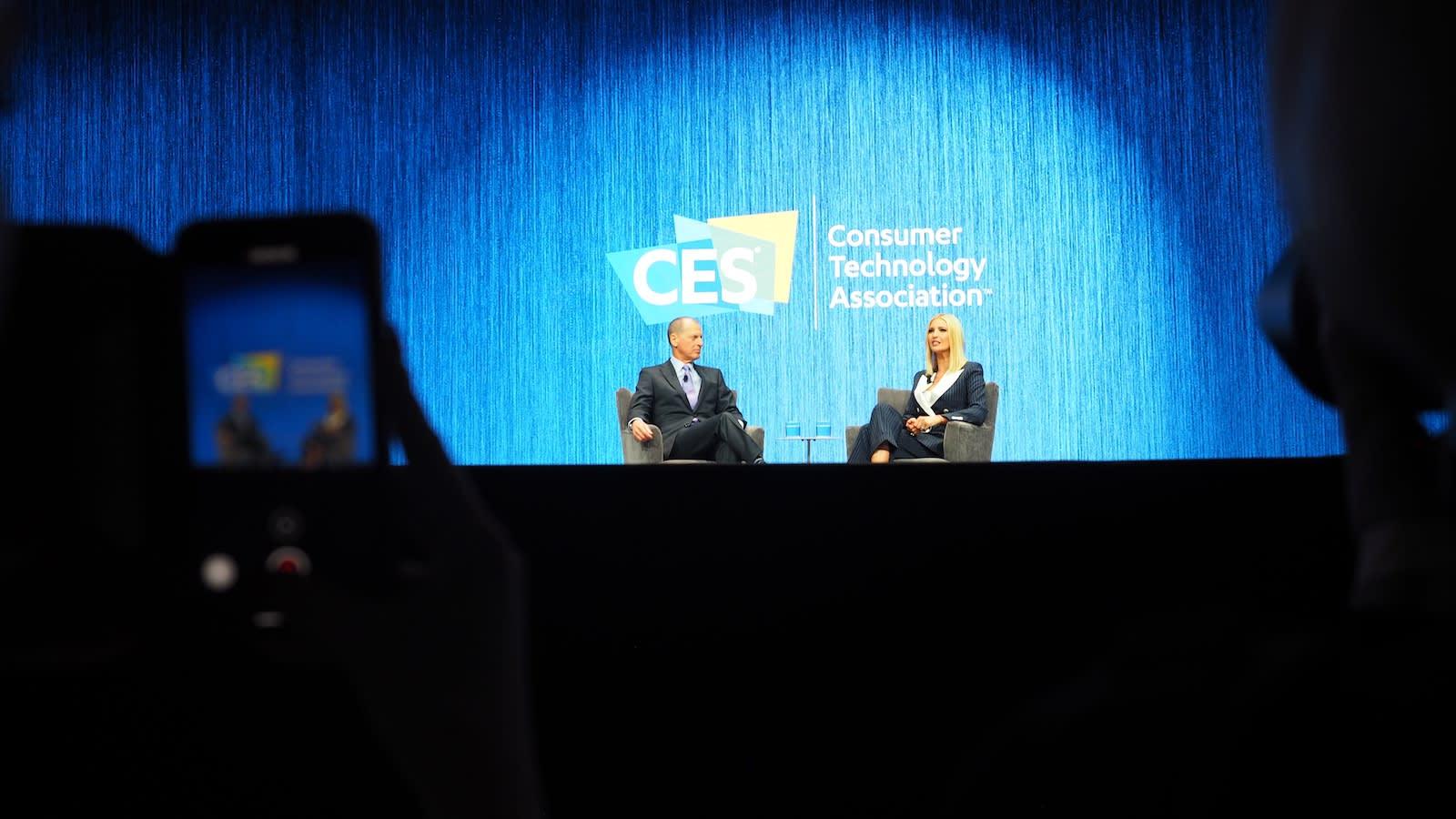 Ivanka Trump at CES 2020