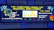 Top 5 companies hiring for the holidays