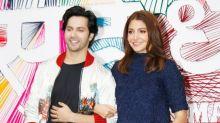 Varun & Anushka at Trailer Launch of 'Sui Dhaaga - Made in India'