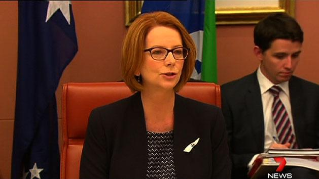Gillard meets with states on education