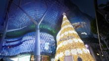 PHOTOS: ION Orchard's Christmas tree lights up
