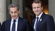 «Ca va très mal finir», s'inquiète Sarkozy au sujet de Macron