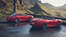Porsche Boxster T and Cayman T revealed promising purist experience