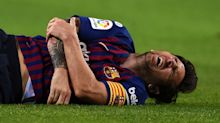 Messi gives Barca Clasico scare with early exit against Sevilla