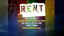 Rent to be performed at Lyceum Theatre