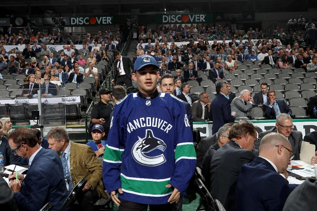 Vancouver's Woo becomes NHL's No. 2 Chinese heritage pick