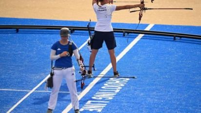 JO - Tir à l'arc (F) - Lisa Barbelin franchit le premier tour des JO de Tokyo
