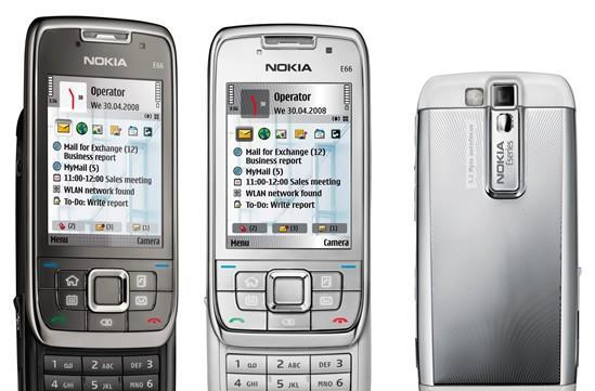 Nokia E66 S60 slider goes official