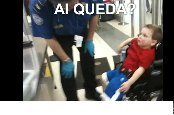 """<p> Last March, a toddler in a wheelchair was subjected to an invasive body search and swabbed for explosives on his way to Disneyland. His father, who filmed the incident, which took place at Chicago O'Hare Airport, said: """"He was trembling with fear... I was told I could not touch him or come near him during this process.""""</p>"""