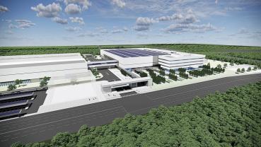 現代新能源王國的宏圖大略選擇從中國出發,海外首座氫燃料電池系統生產基地在廣州破土