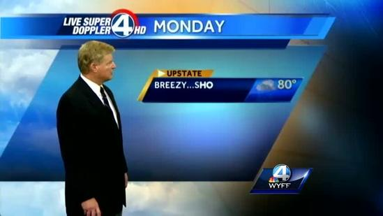 John Cessarich's forecast for Monday, June 10, 2013