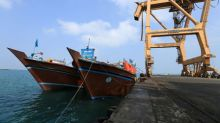 Ship carrying wheat to Yemen hit by missile: EU navy force