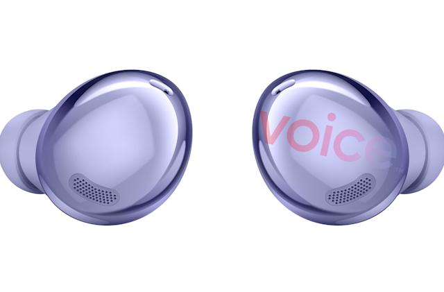 Samsung's Galaxy Buds Pro sports updated design in leaked images