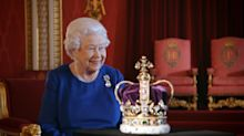 Gems from the crown jewels were hidden in a BISCUIT TIN during the Second World War