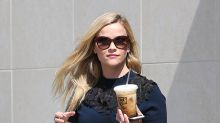 Celebs Drinking Coffee on the Go