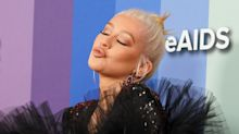 El 'outfit' de Christina Aguilera en la gala amfAR no pasó desapercibido