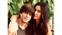 Photo Alert: Katrina Kaif poses with Shah Rukh Khan; calls him the most caring person
