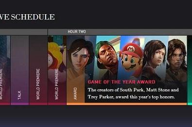 Tonight's VGX lineup features GOTY in the middle of a world exclusive sandwich