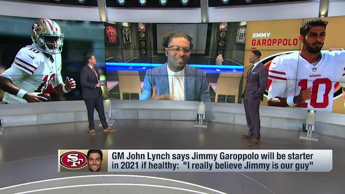 McGinest, Tomlinson discuss whether Jimmy G is 'the guy' in San Francisco