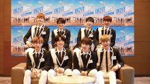 K-pop group IN2IT in Singapore