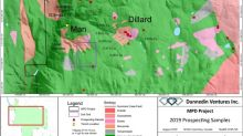 Dunnedin Reports 0.80% and 0.76% Copper in Grab Samples and Identifies New Copper-Gold Soil Anomalies at MPD Porphyry Project, Southern British Columbia