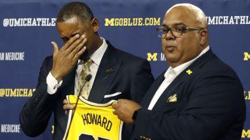 Emotional Howard takes over at Michigan