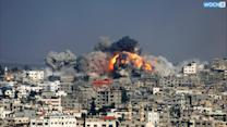 Rockets, Airstrikes After Gaza War Truce Collapses