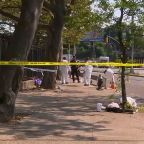 Man in custody in shooting on Brooklyn playground that left 1 dead, 11 wounded