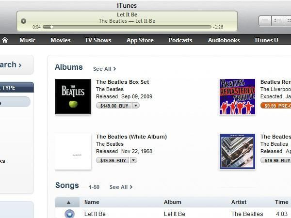 iTunes' 90-second song previews go live on select songs, US-only for now