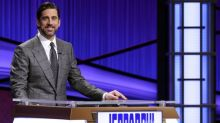 Aaron Rodgers might not be a star guest host on 'Jeopardy!', but he's a good backup